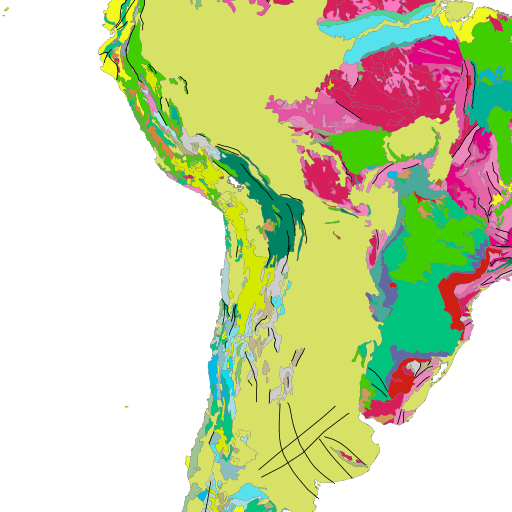 macrostrat geologic map